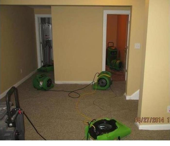 Why SERVPRO when it comes to flooded basements!