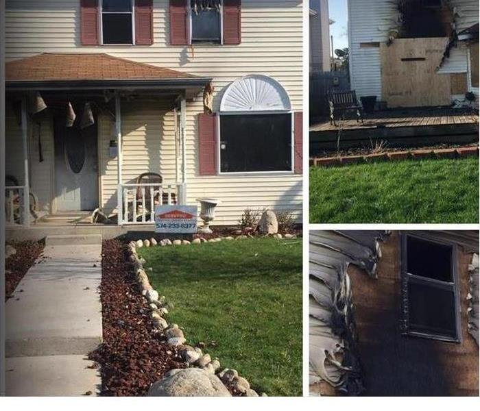 Fire Damage Getting Through A Fire: SERVPRO of Marshall, Starke, Pulaski and Fulton will help you!